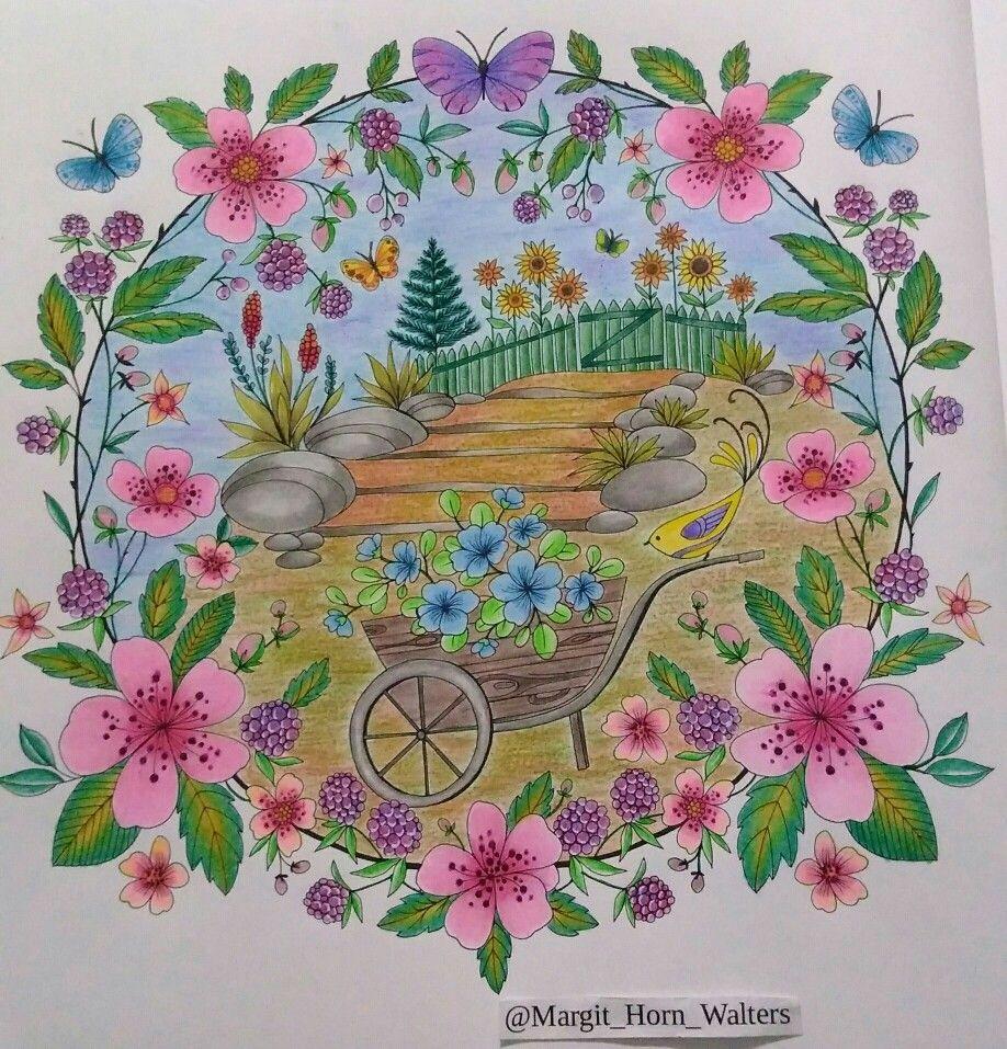 Joyous Blooms To Color De Eleri Fowler