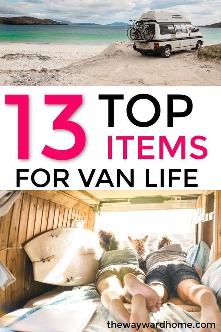 Van Life Essentials: 28 Top Picks for Campervan Gear
