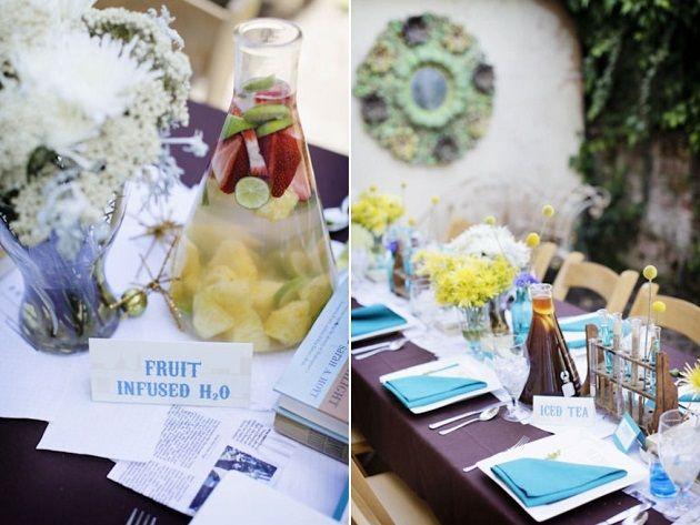 Perfect Chemistry Bridal Shower With