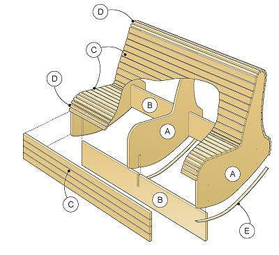 How To Make A Two Person Rocking Chair   Better Homes And Gardens   Yahoo!