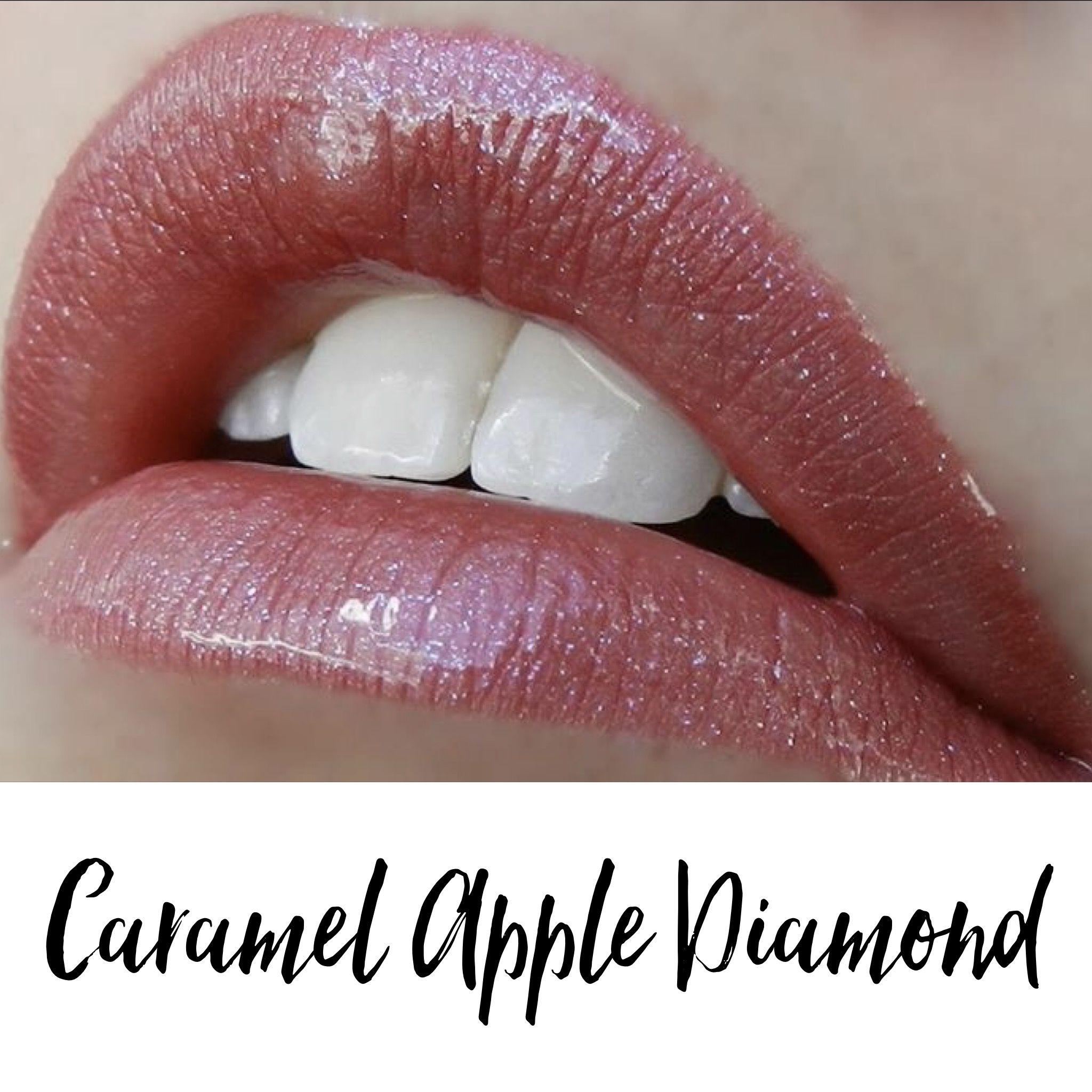 Caramel Apple Diamond LipSense with Diamond Kiss Gloss