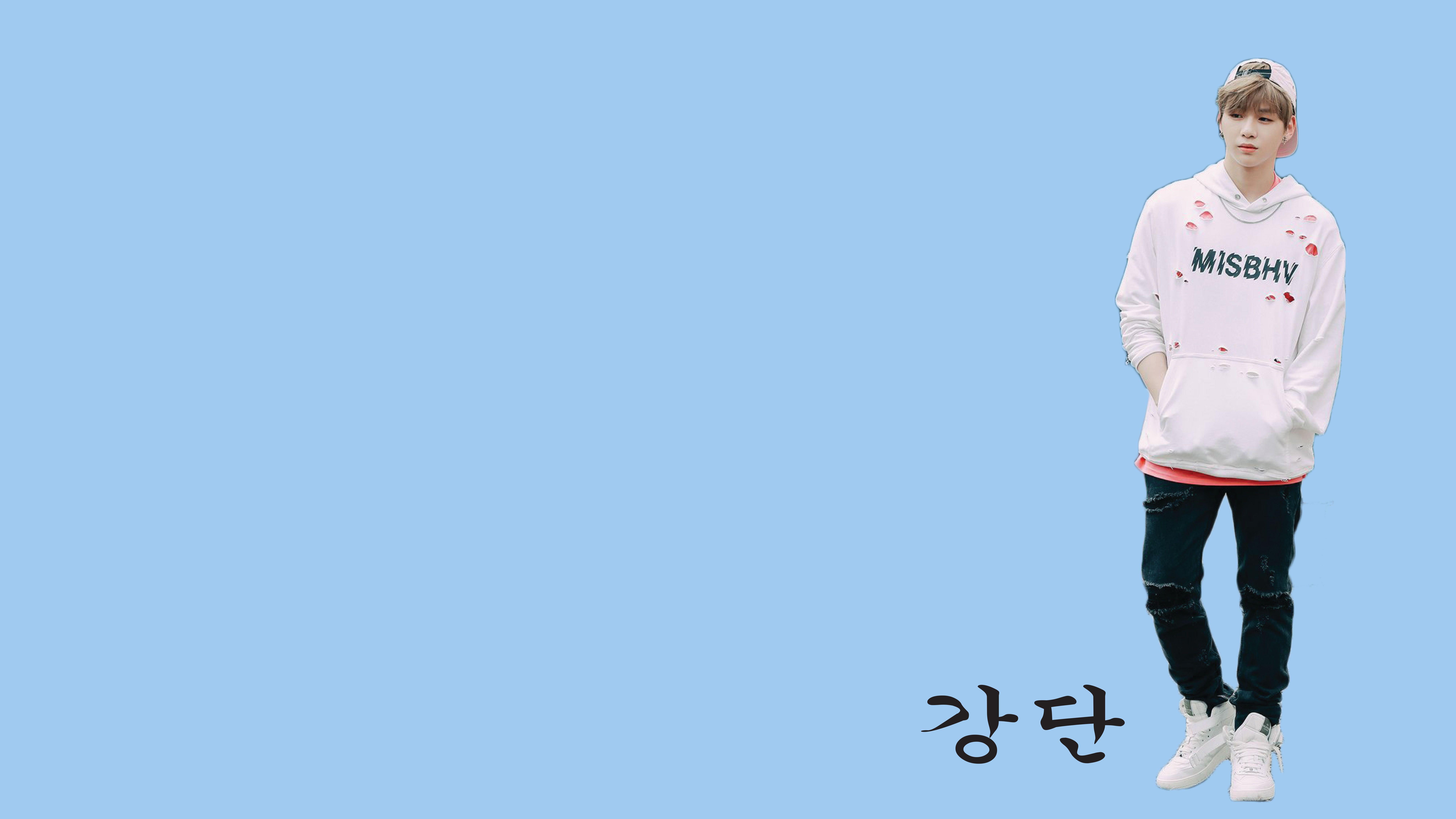 Wallpaper Kang Daniel Of Wanna One Blue Kangdaniel Wannaone Wannable Blue Gambar