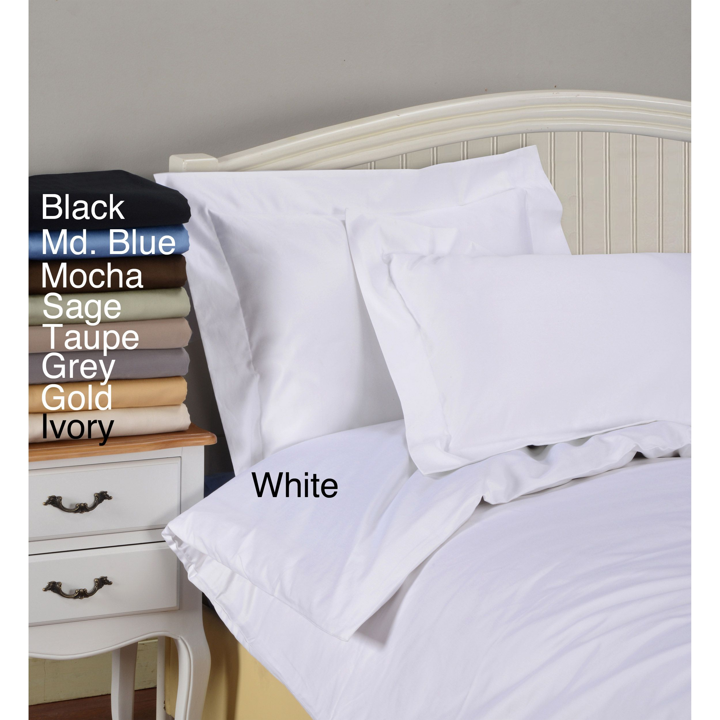 The Duvet Set Is Made Of 100 Percent Egyptian Cotton And Features A Thread Count Each Bedding Comes
