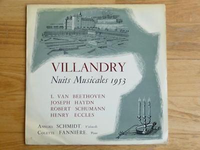 archived! $ 1310 | Annlies Schmidt De Neveu Cello Recital Villandry 1953 Ducretet Thoms #vinyl https://t.co/ccEzpCZLPh