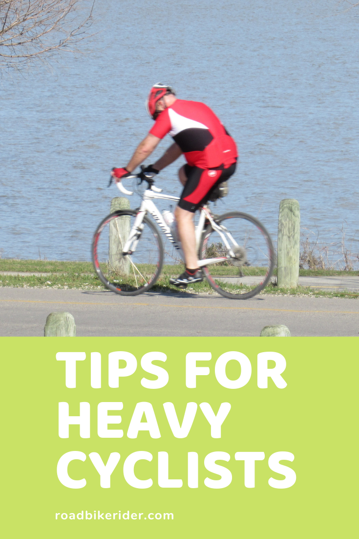 14 Tips For Heavy Cyclists Bicycle Workout Cycling Workout Bicycle