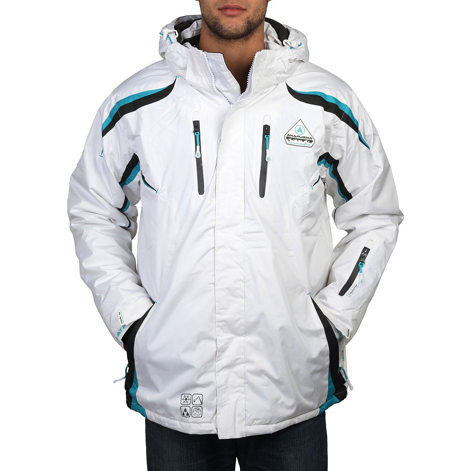Geographical Norway Wesc_man_jacket_white | Tøj