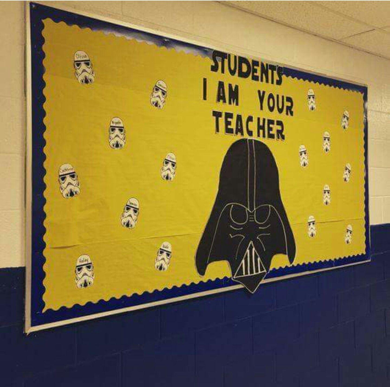 Darth Vader Star Wars school bulletin board | Mundo geek | Pinterest ...