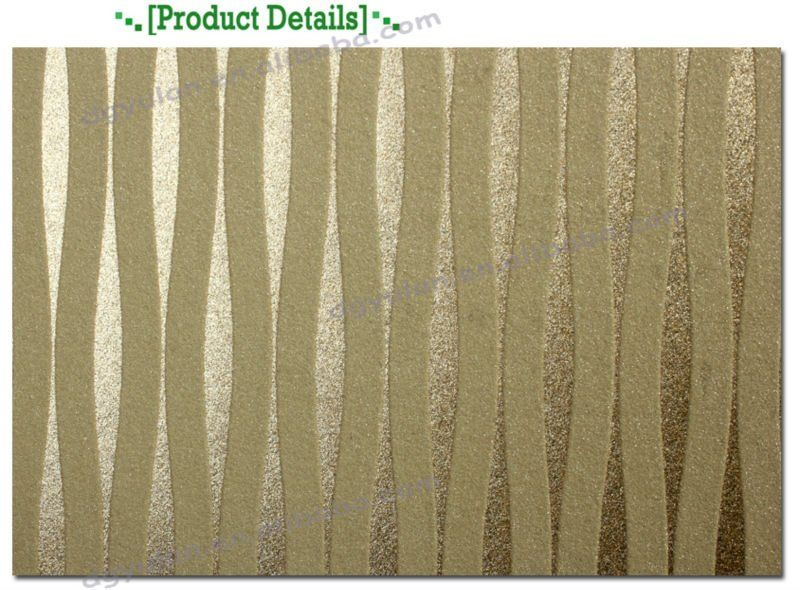 Modern Lines Textured Commercial Gold Glitter Wallpaper For Walls - Buy  Glitter Wallpaper For Walls,Modern Wallpaper,Gold Glitter Wallpaper Product  on ... - Modern Lines Textured Commercial Gold Glitter Wallpaper For Walls