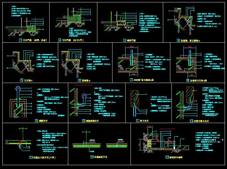 ☆【Building Details】☆-CAD Library | AutoCAD Blocks
