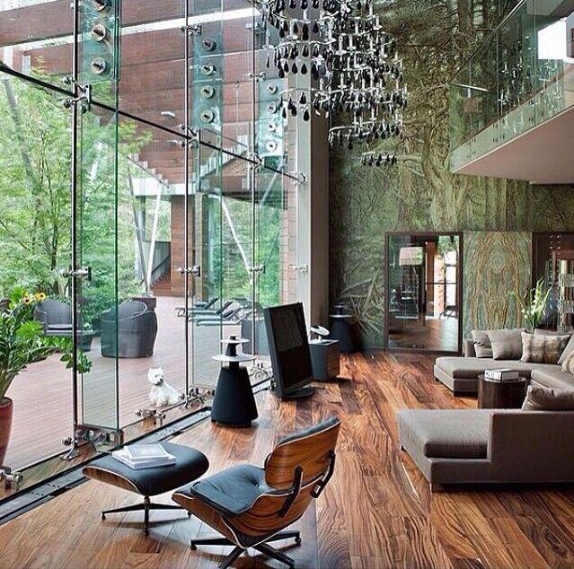 I love glass houses