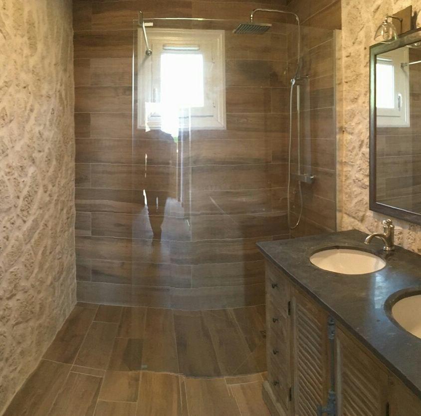 Rénovation #intérieur chantier client en cours avec Gedimat - revetement exterieur imitation bois