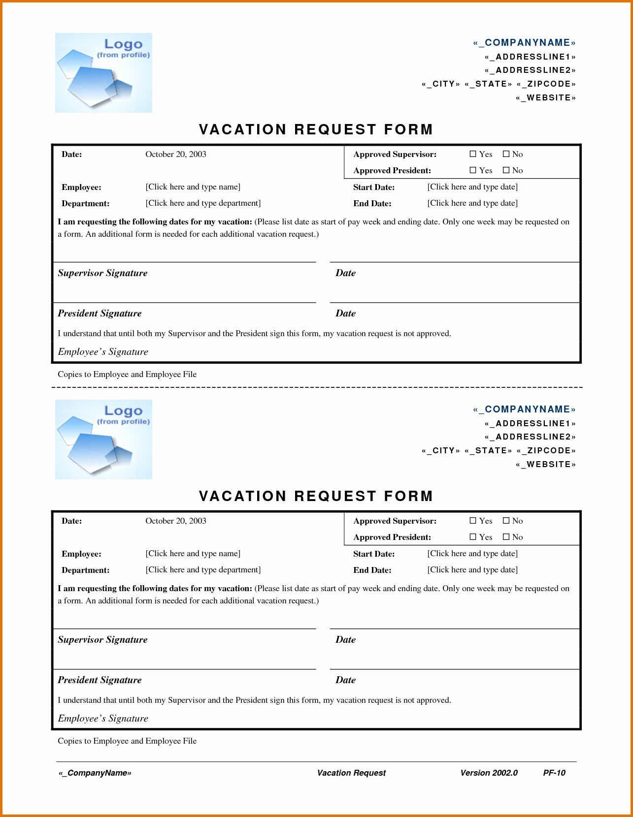 Vacation Request form Template Fresh Sample Letter Request