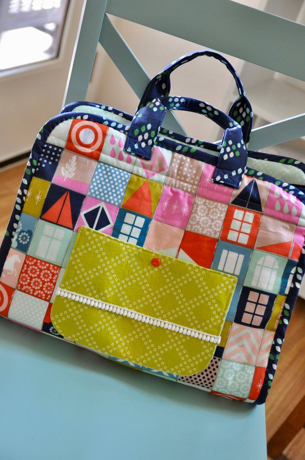 The Maker's Tote: a pattern review — Pin, Cut, Sew | Sewing