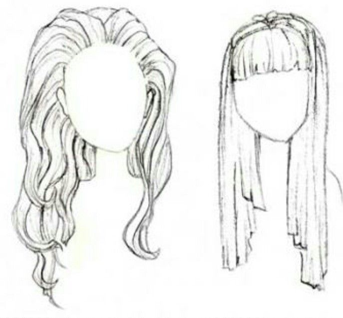 Bangs And Wet Hair Realistic Drawings Drawing Hair Tutorial How To Draw Hair