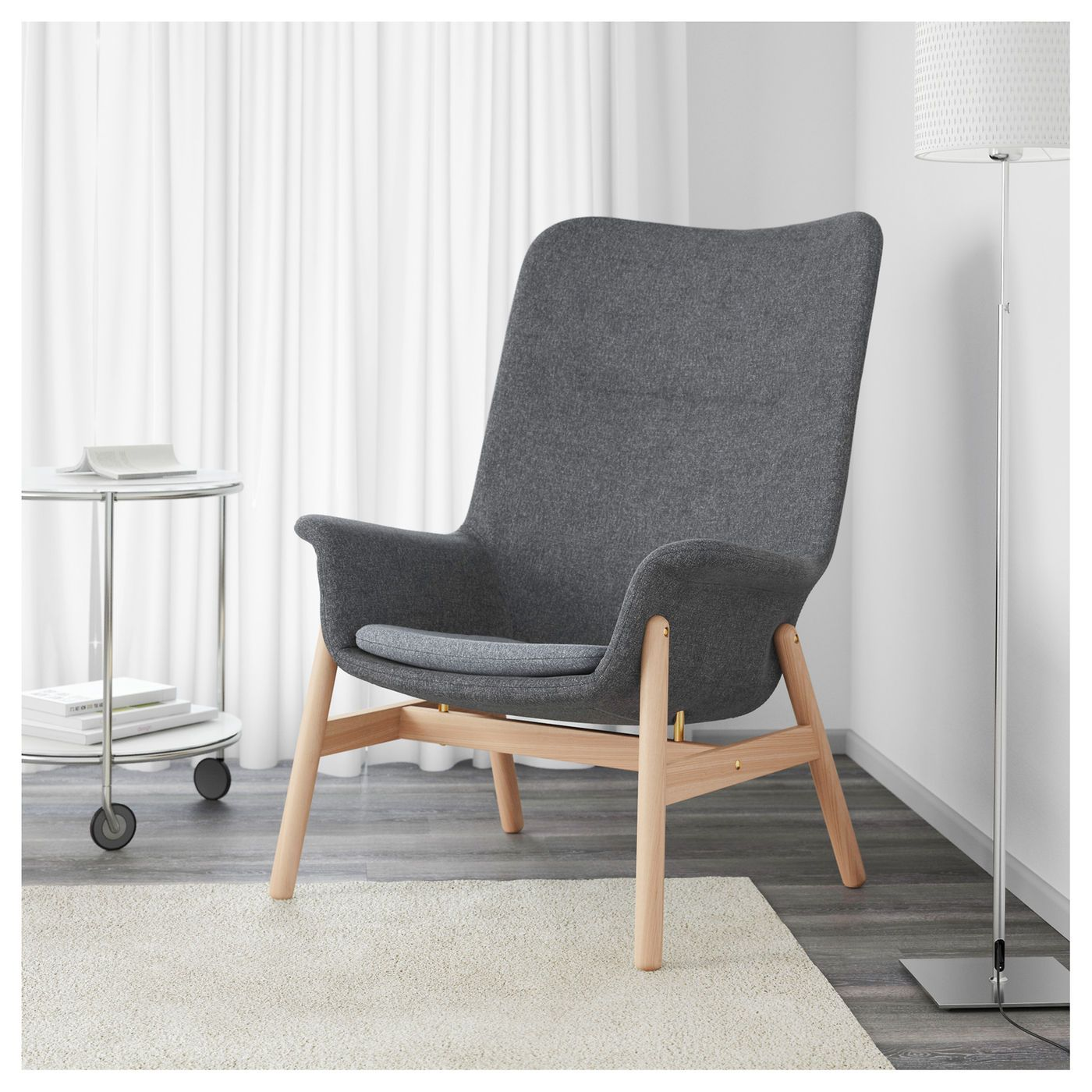 IKEA   VEDBO, High Back Armchair , The Timeless Design Of VEDBO Makes It  Easy To Place In Various Room Settings And Match With Other Year Guarantee.