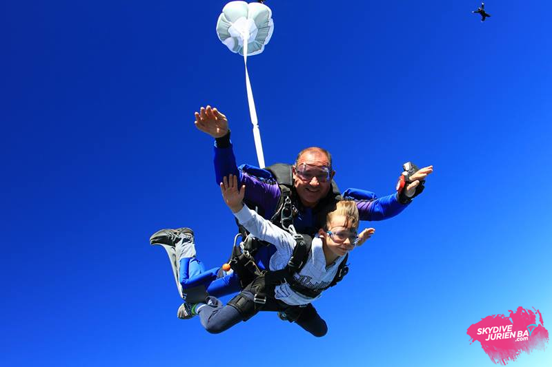 Youngest Skydiver