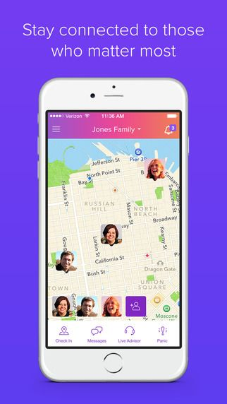 Life360 app: Great for keeping track of a travel group  You can msg