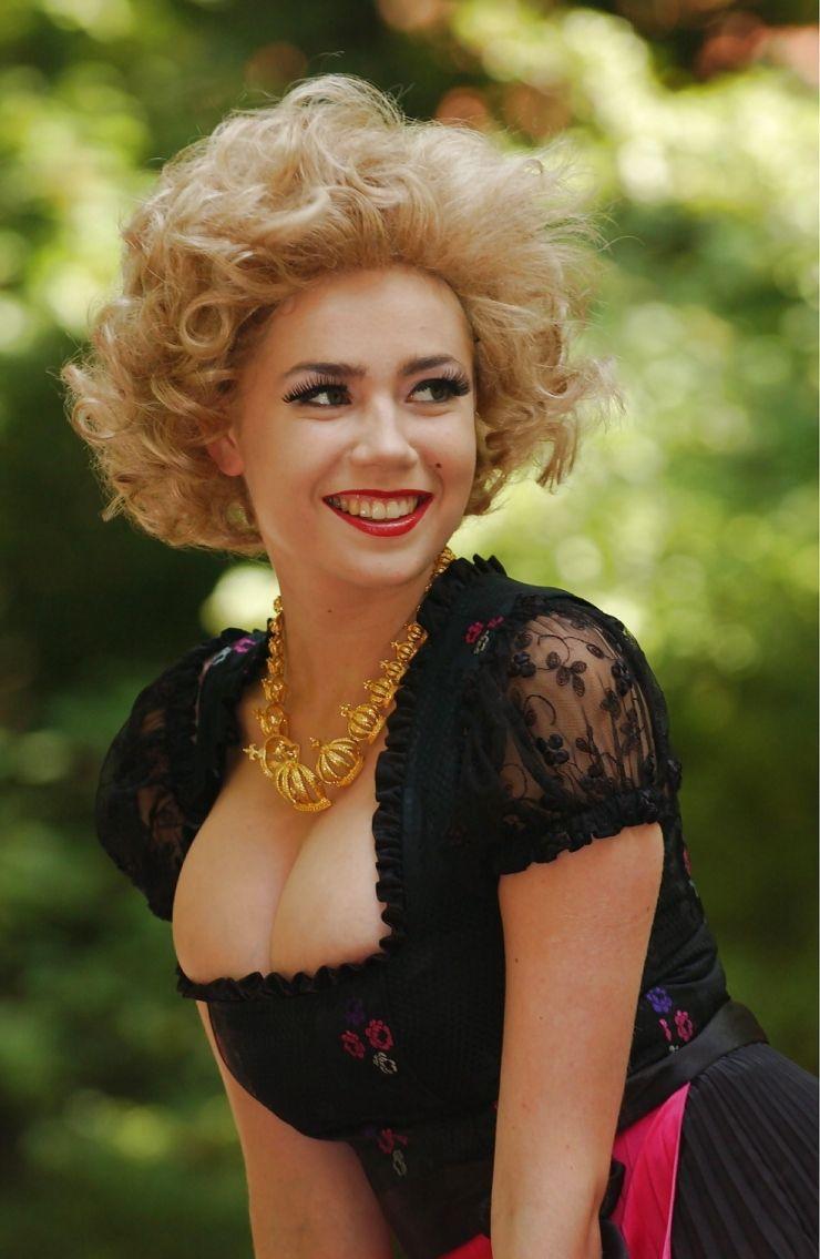 Palina Rojinski   Long bob, Celebs, Blonde