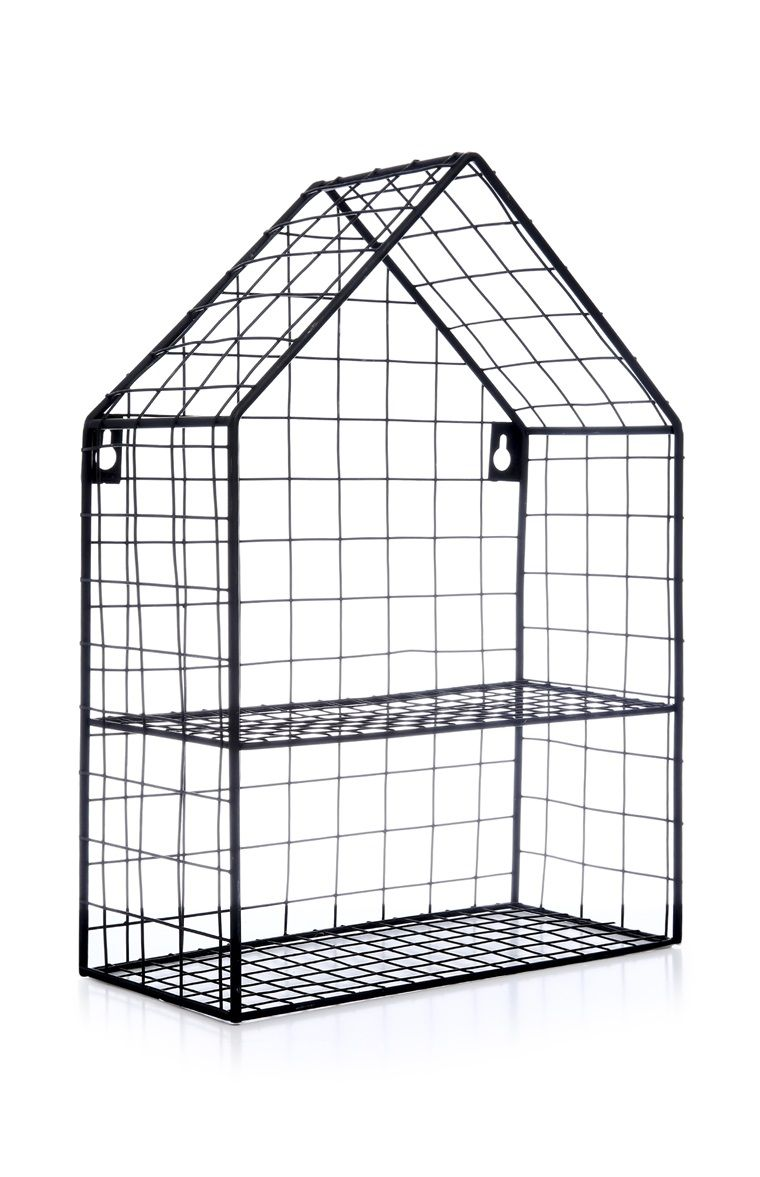 hight resolution of primark black house wire shelving