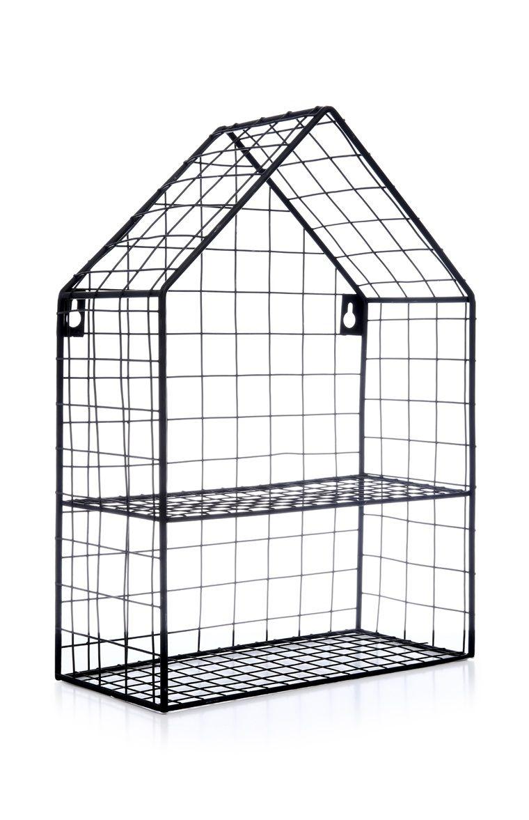 medium resolution of primark black house wire shelving
