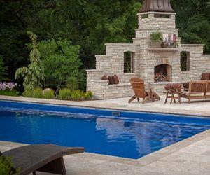 Fiberglass Inground Swimming Pools Lewis Center Oh Pools Backyard Inground Fiberglass Swimming Pools Swimming Pools