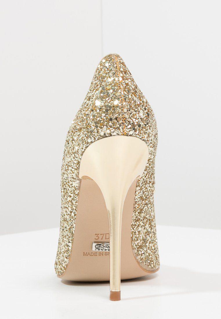 Elegante schuhe gold