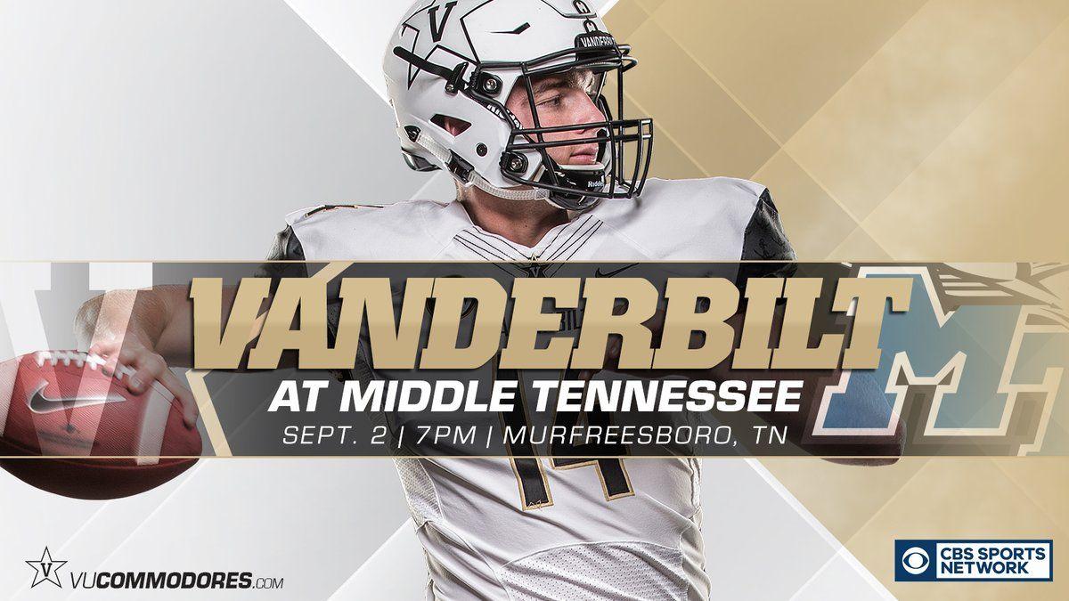 Vanderbilt Cbs sports, College football