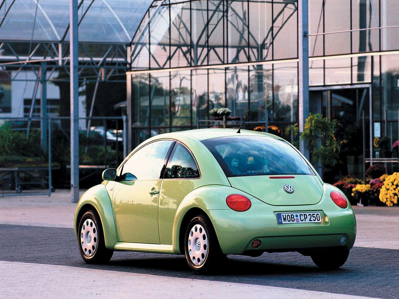 2000 Vw New Beetle Green Rear 1280x960 New Beetle Vw New Beetle Volkswagen Beetle