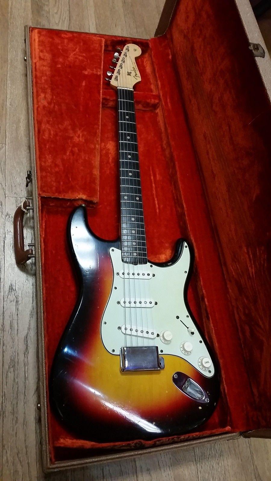 medium resolution of original 1962 fender stratocaster sunburst reverb 1962 fender stratocaster fender guitar amps fender