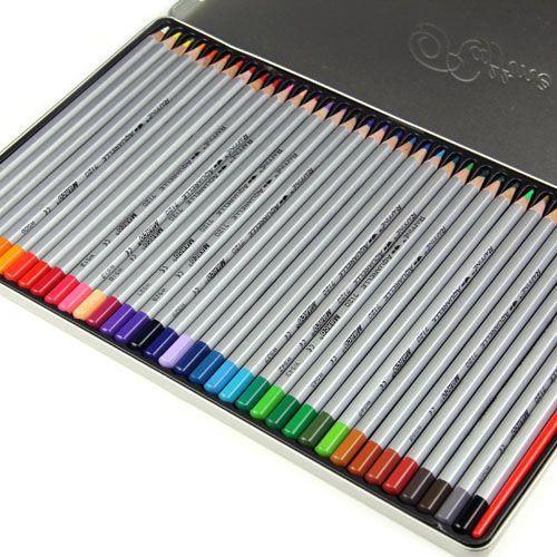 Crayons Aquarelle Mis 24 36 48 Peinture Crayons De Couleur Lapis