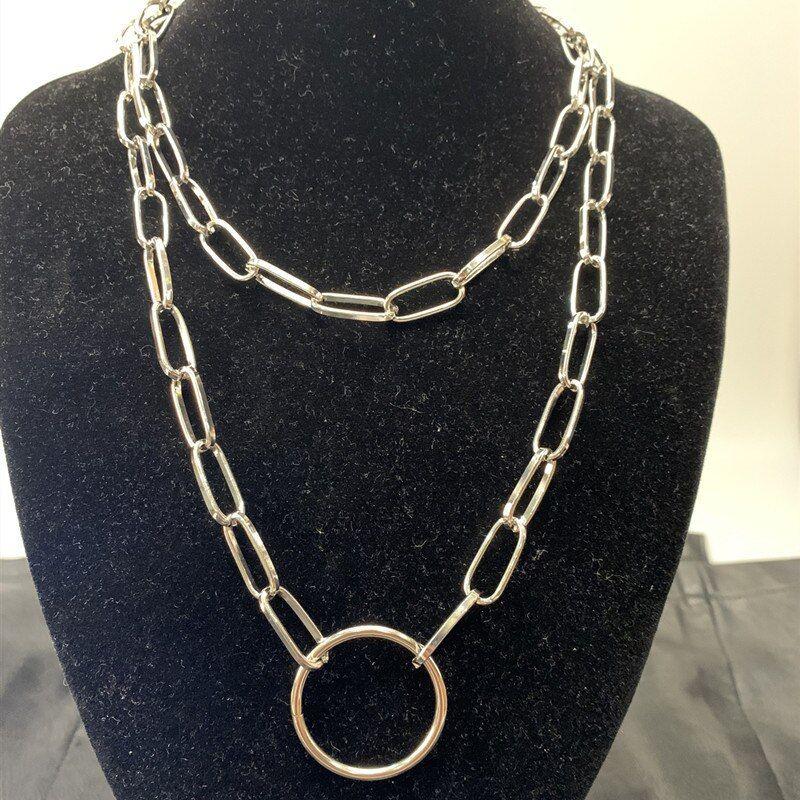 Fashion Jewellery UK Seller Choker Layered Style Chunky Necklace.Gold Plated