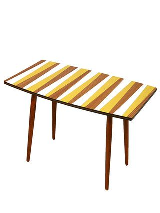Amazing Czech Mid Century Side Table Circa 1962 By Prague Kolektiv At Gilt Amazing Ideas