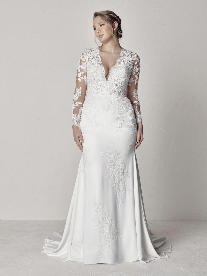Cheap Plus Size Women S Summer Dresses Plussizedresseswithsleeves Cheapsummerdresse Plus Wedding Dresses Wedding Dress Long Sleeve Wedding Dresses Plus Size [ 1067 x 800 Pixel ]