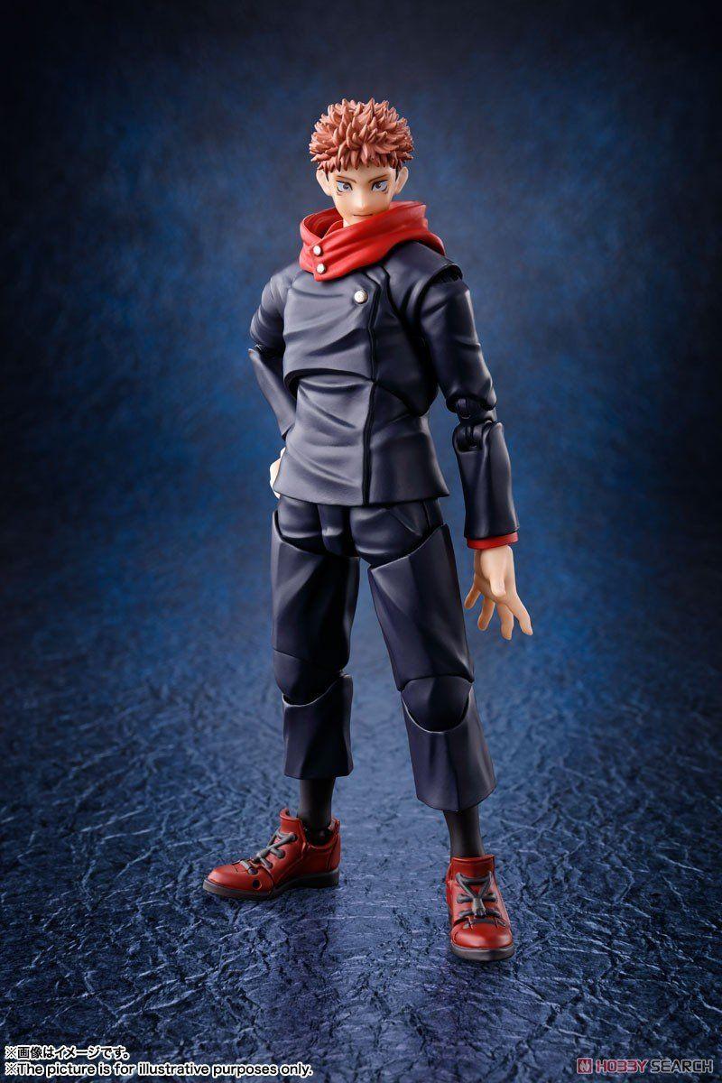 Jujutsu Kaisen Yuji Itadori S H Figuarts Jujutsu Figures The Incredibles