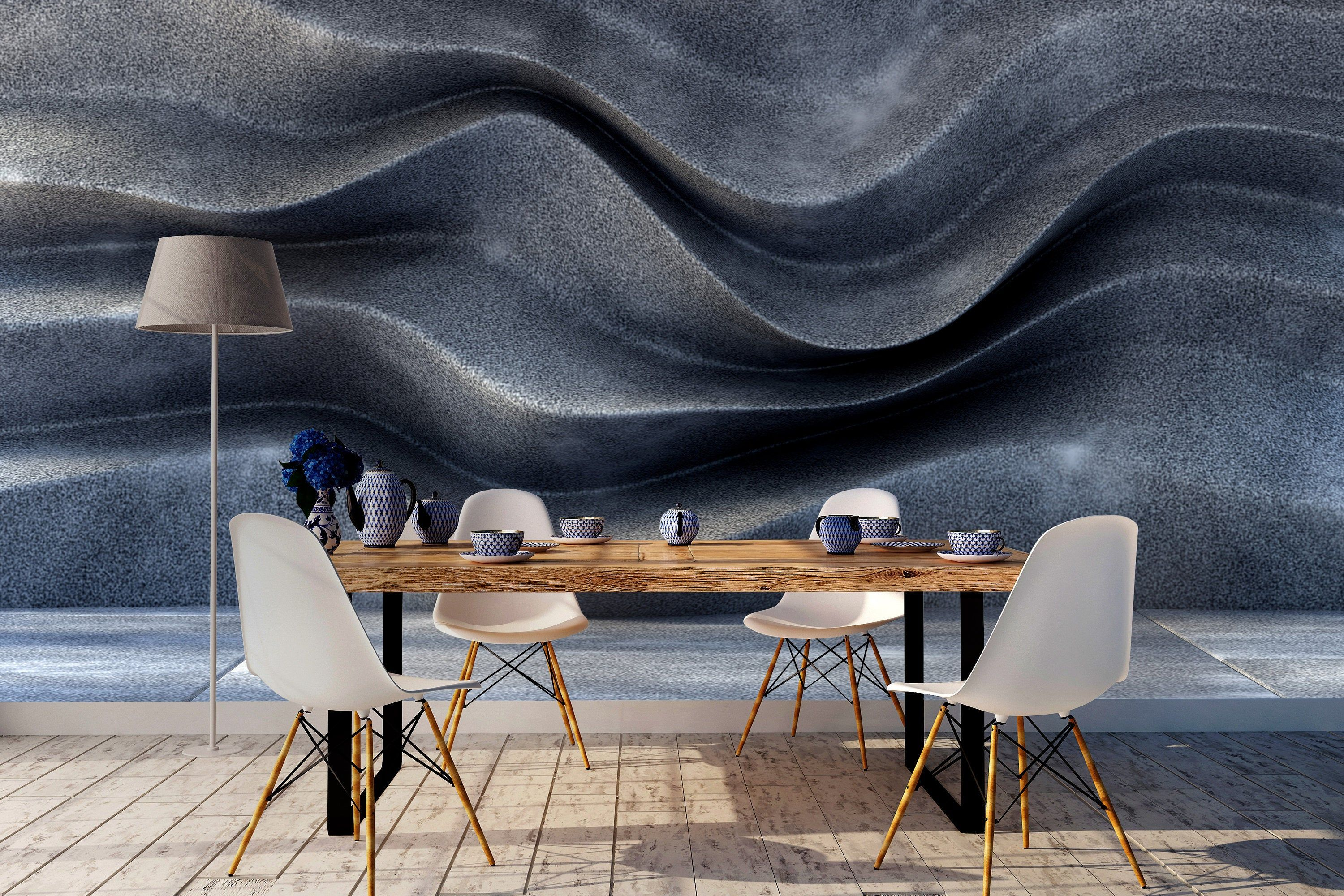 Rock 3d Render Hq Peel And Stick Self Adhesive Wallpaper Removable Wall Mural Living Room Bedroom En Removable Wall Murals Kids Room Murals Living Room Bedroom