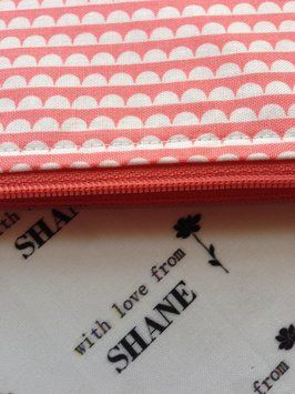 Handmade make up bag by With Love From Shane.