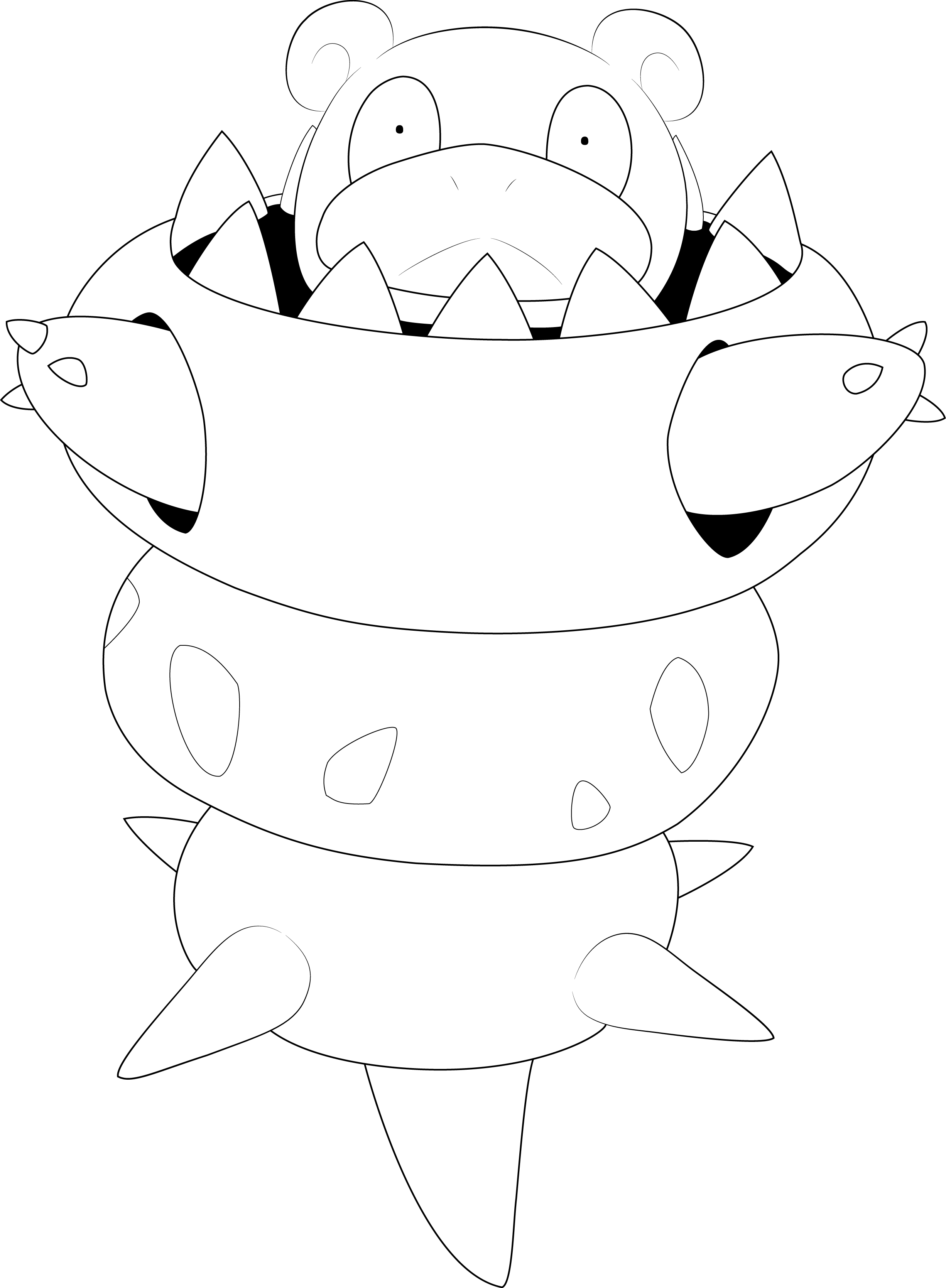 Pokemon Ausmalbilder Bisaflor : Mega Slowbro Line Art By Alcadeas1 Lineart Pokemon Detailed