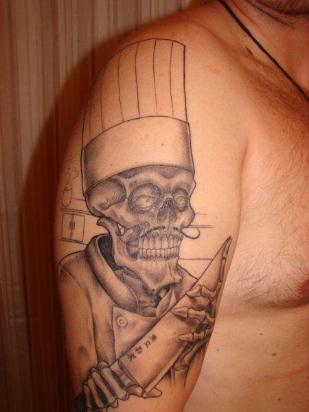 kitchen ink: this week's tattooed chef - chow bella | kitchen ink