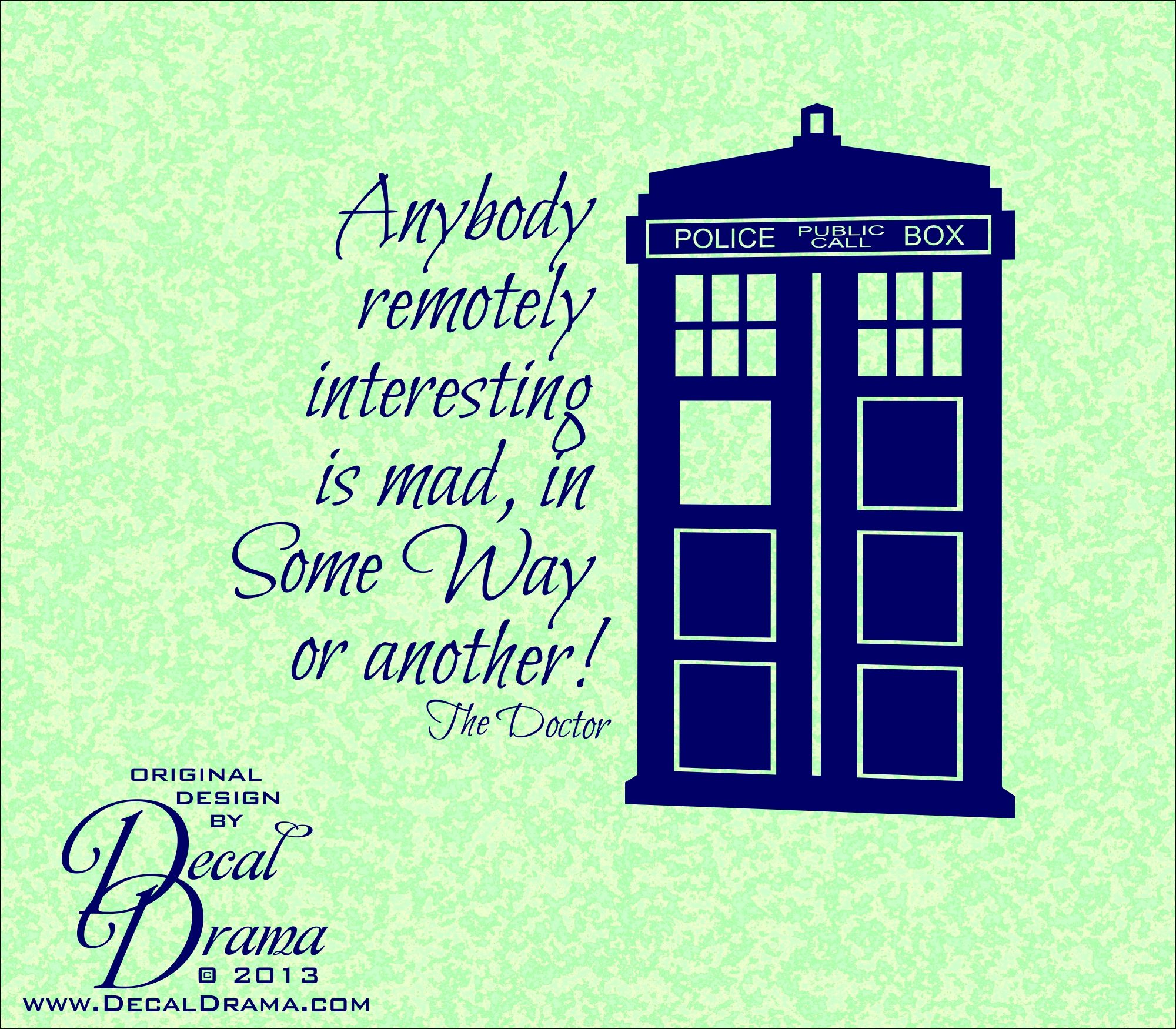 Dr who wall decals remotely interesting is mad in some way dr who wall decals remotely interesting is mad in some way amipublicfo Choice Image