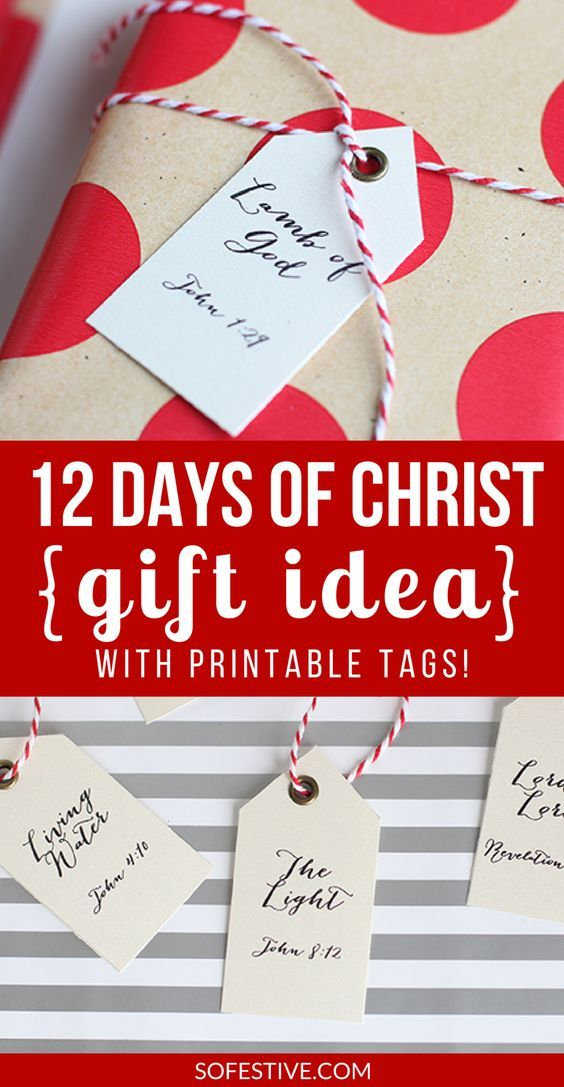 Christ centered christmas gifts