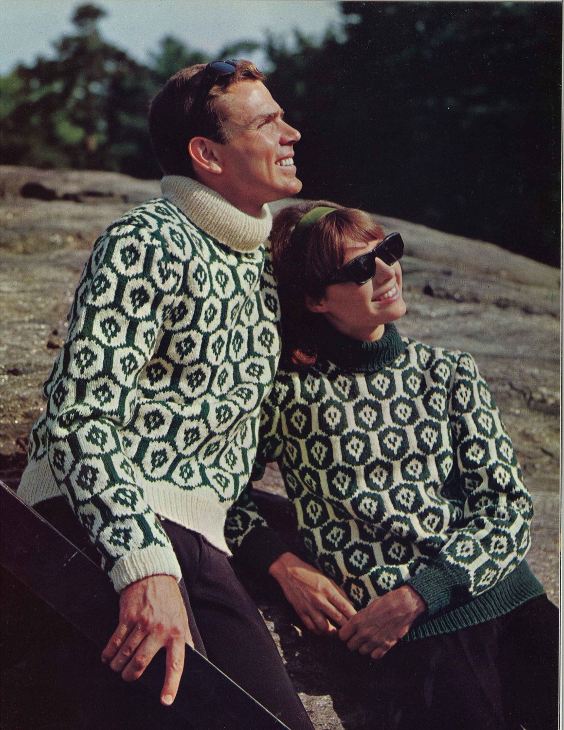 Emerald thistle 1960s fair isle colorwork pullover sweater emerald thistle 1960s fair isle colorwork pullover sweater patterns 60s vintage knitting pattern bankloansurffo Choice Image