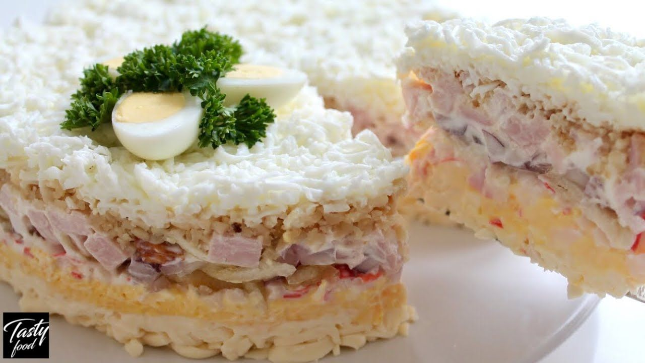 почувствовал салат снежная королева рецепт с фото кафе угра представлена