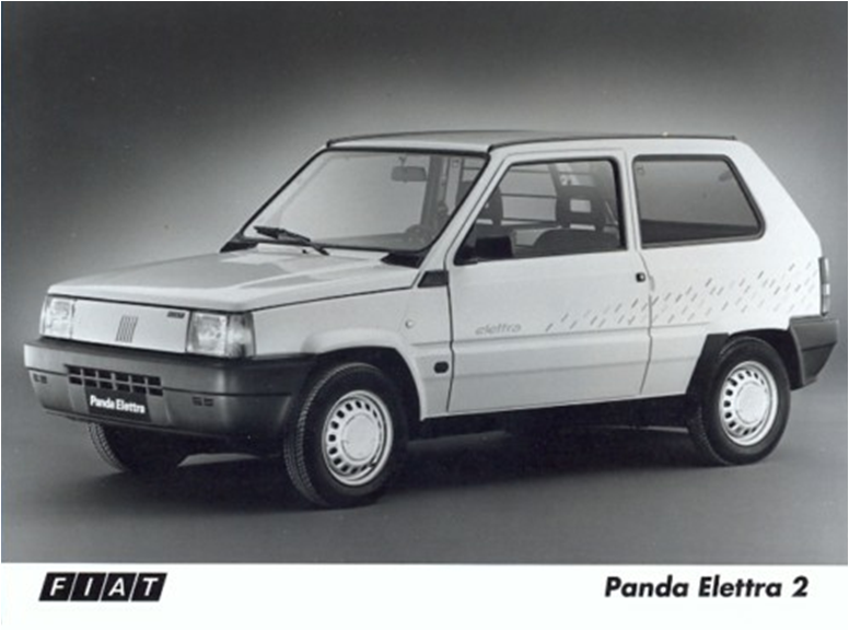 1990 Fiat Panda Elettra 2 Fiat Abarth Pinterest Fiat Panda