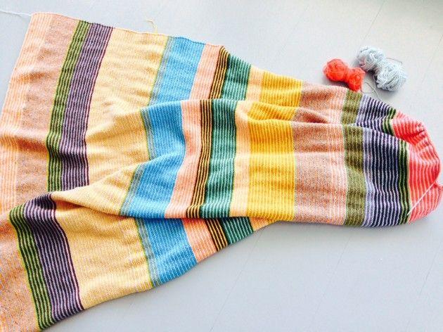 Photo of Håndarbeid »Mitt favoritt strikketeppe, strikking, strikking, håndverk, DIY, t …