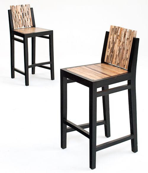 bar stool woodworking plans pinterest deco et industriel. Black Bedroom Furniture Sets. Home Design Ideas