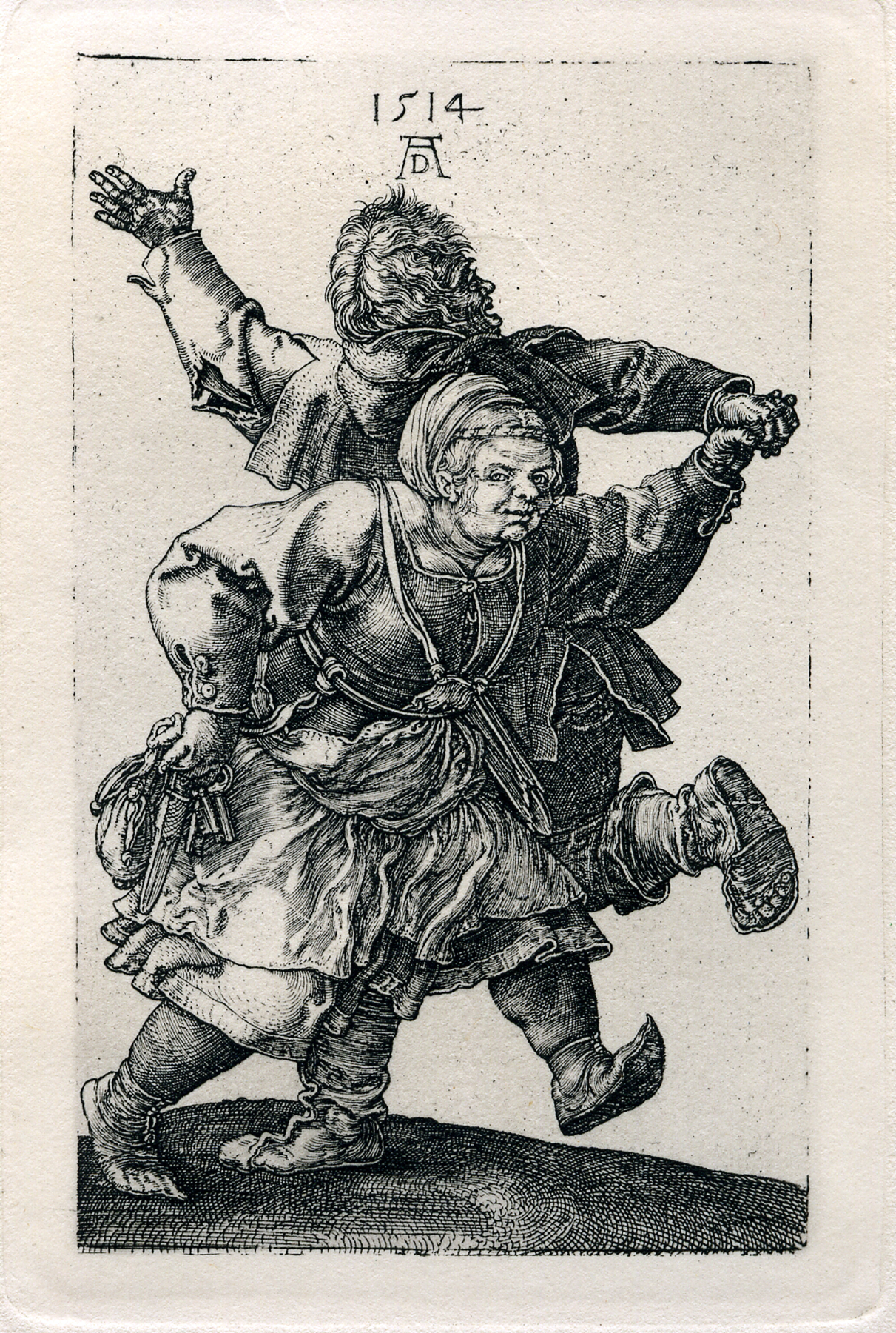 003 Peasant Couple Dancing by Albrecht Durer Poster Zazzle