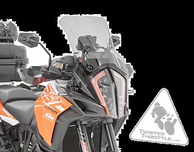 Givi D7706s Windshield For Ktm 1290 Super Adventure R 17 19 S 18 19 Smoke Ebay Super Adventure Ktm Windshield