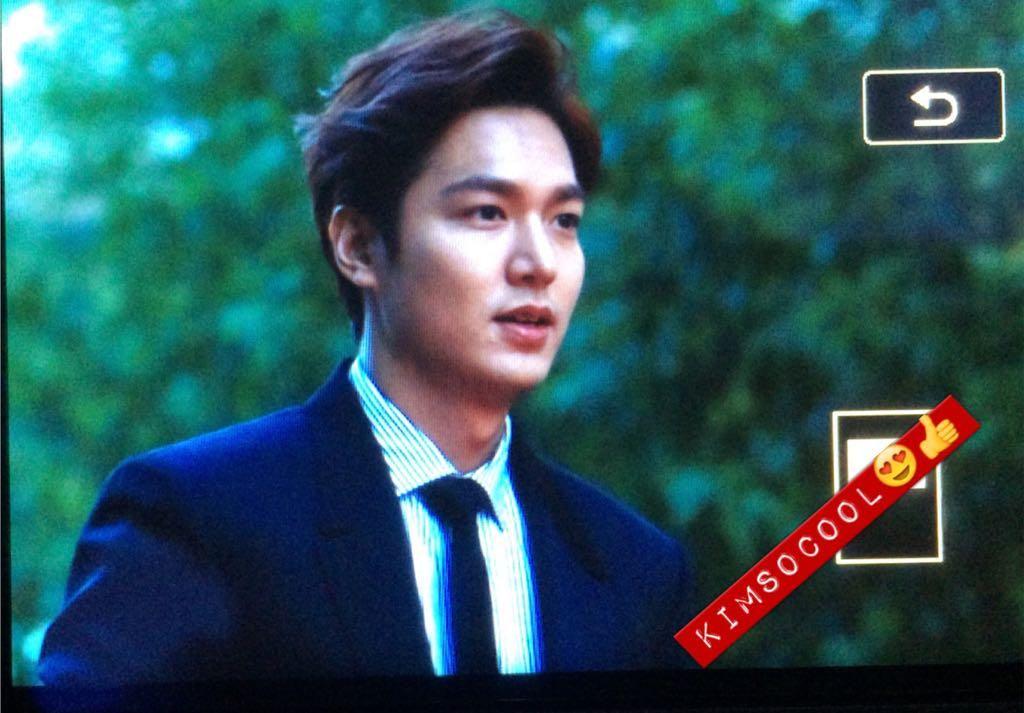[ Twitter:  KimSoCool ]   Lee Min Ho : Red Carpet & Awards Ceremoy : 10th Seoul International Drama Awards on 10 September 2015 [Start: 17:50 hours KST)] #서울드라마어워즈 #이민호 오빠 안뇽