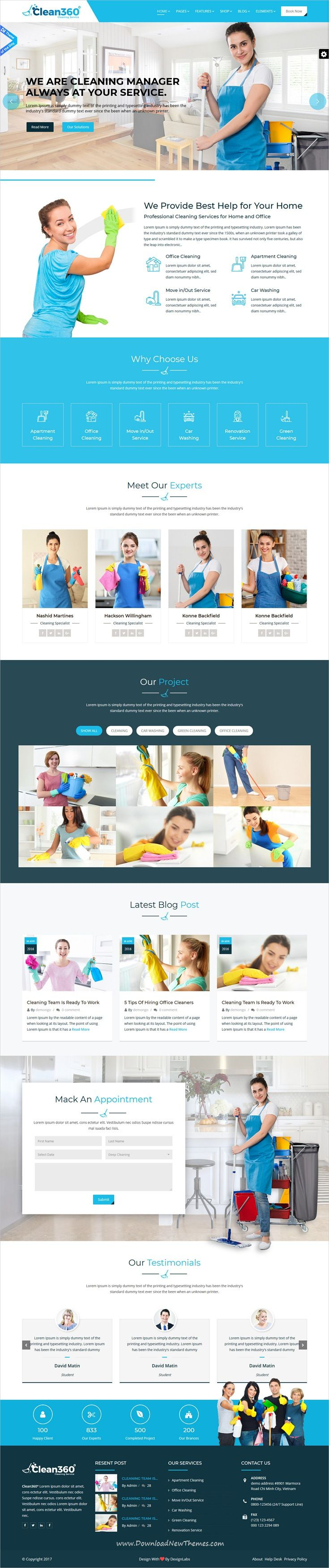 clean360 cleaning pest control services html template pinterest