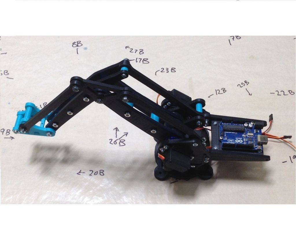 Open Source Robotic Arm (Lite Arm i2) by Armatec - Thingiverse
